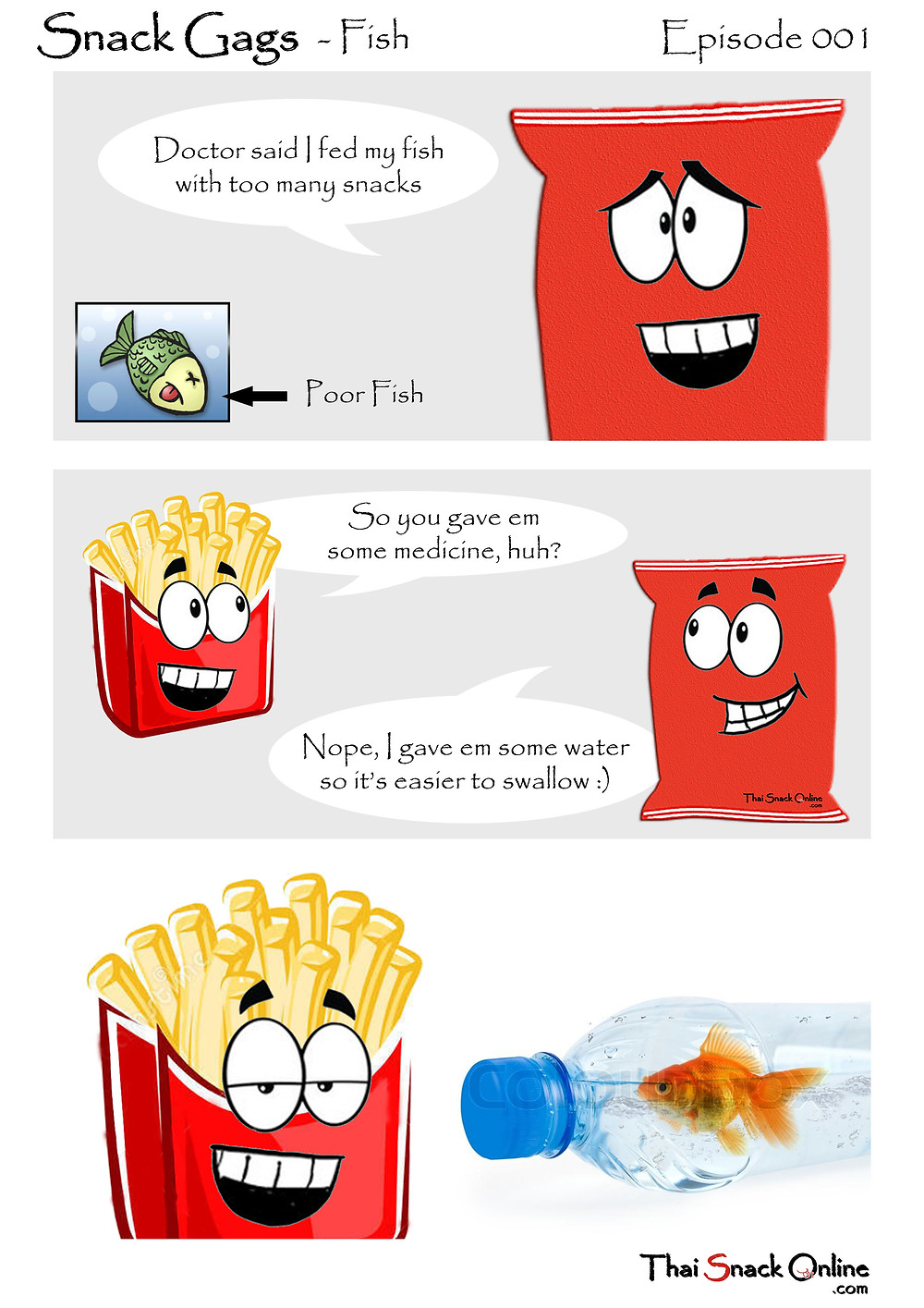 Snack Gags Ep.1 | Fish