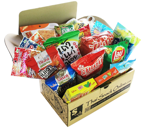 Buy Thai Snacks Online with free worldwide shipping