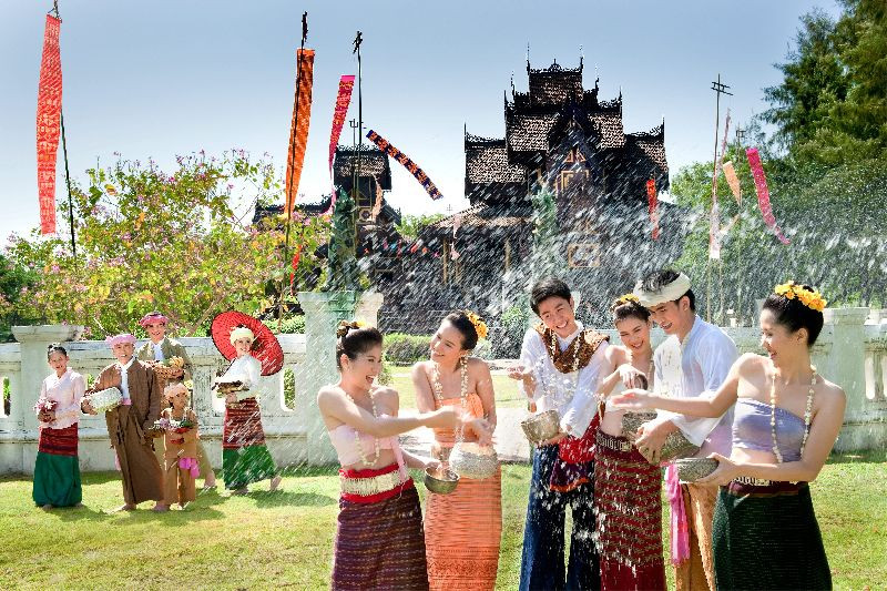 Here are things to do during Songkran festival
