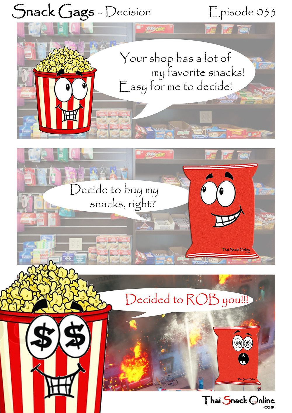 Snack Gags Ep.33   Decision