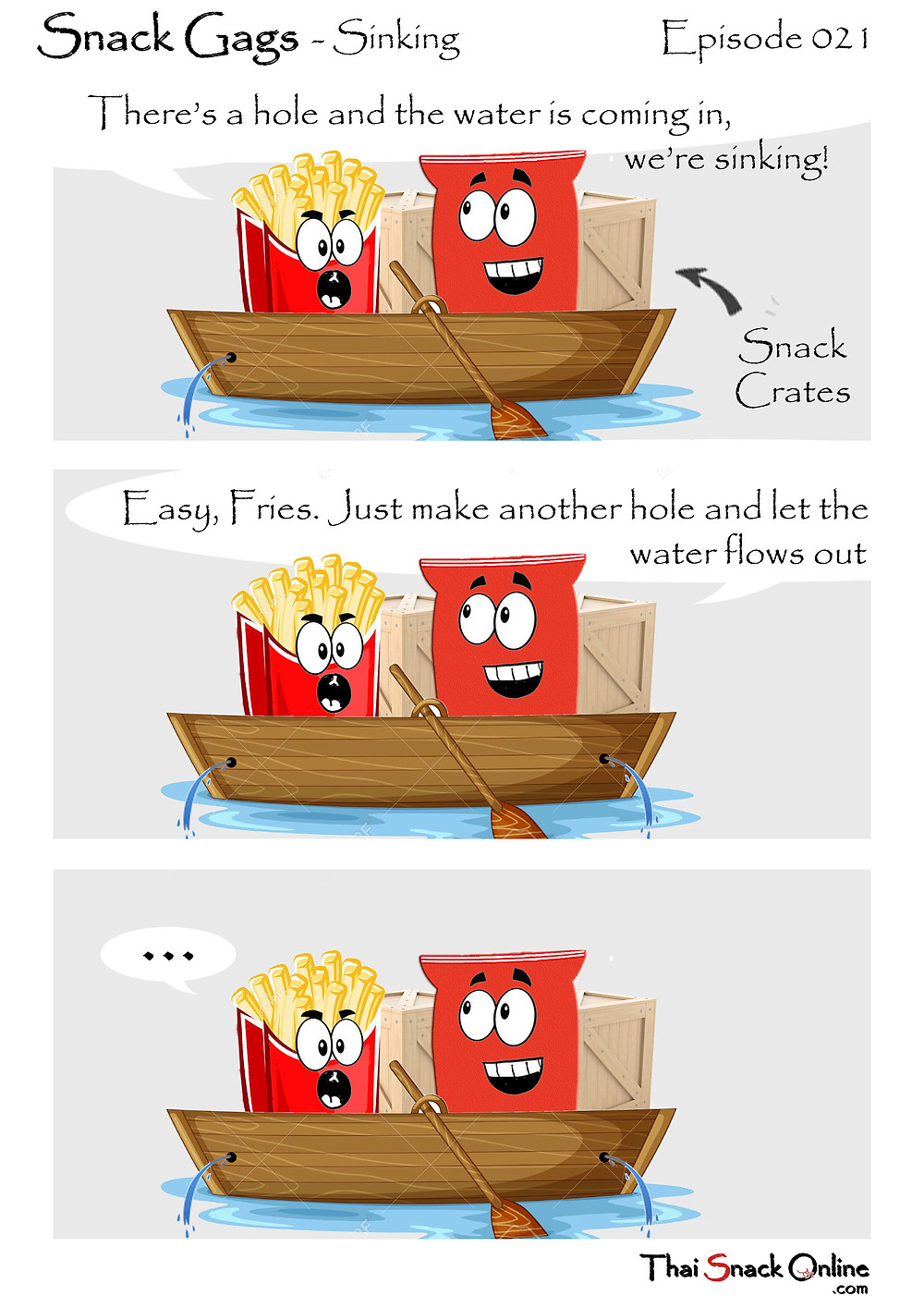 Snack Gags Ep.21 | Sinking
