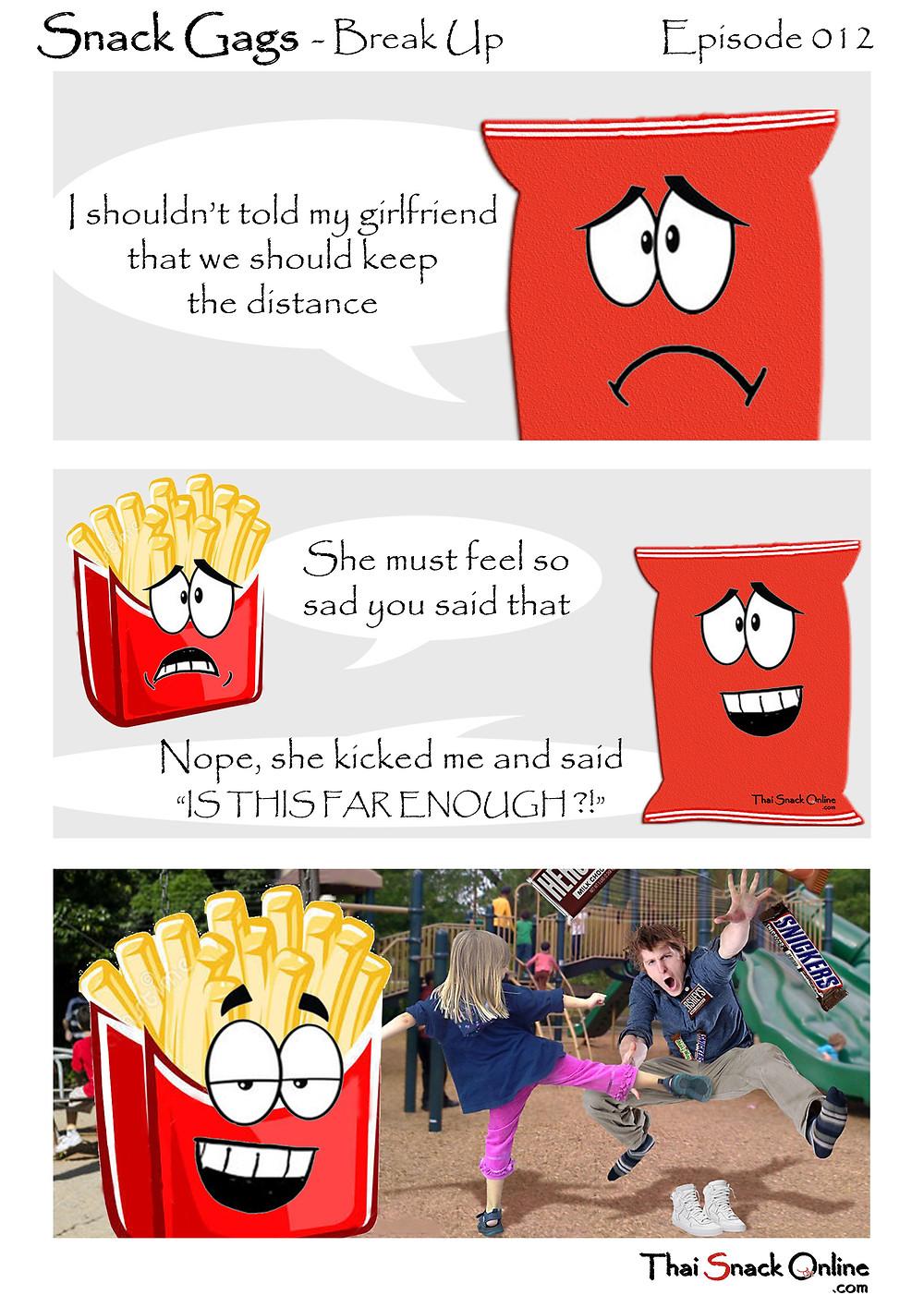 Snack Gags Ep.12 | Break Up
