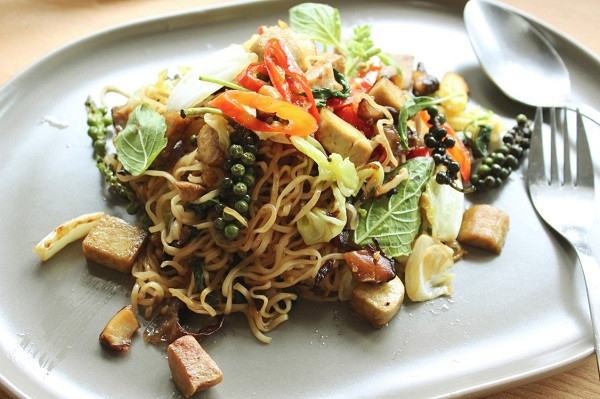 Spicy Fried Noodle for Vegetarian