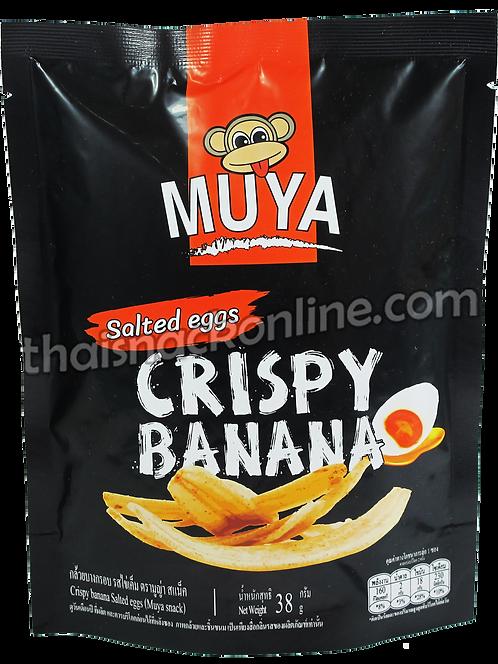 Muya - Crispy Banana Salted Egg (38g)