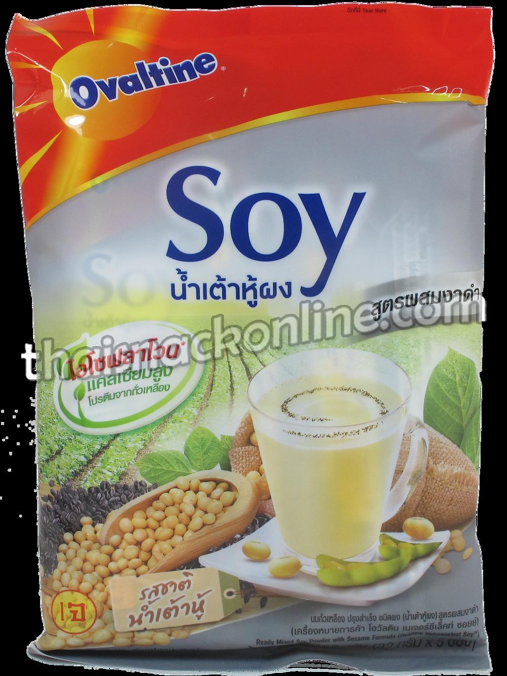Ovaltine - Soy Powder with Black Sesame (160g)