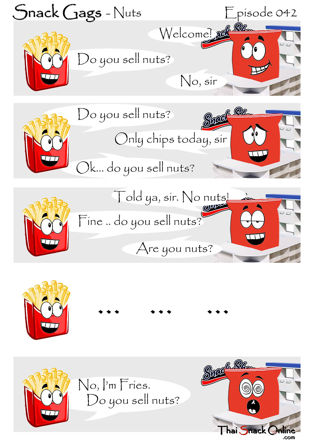 Snack Gags Ep.39 | Grammar