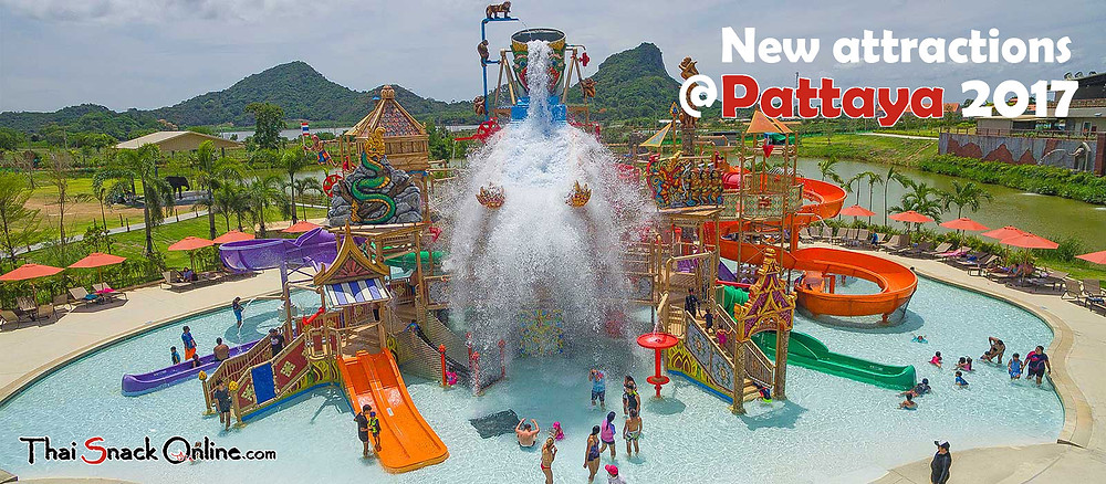New attractions Pattaya Thailand 2017