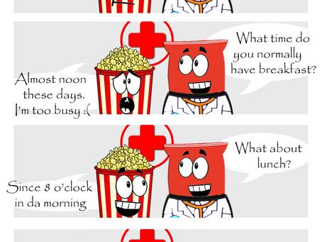 Snack Gags Ep.147   Berakfast