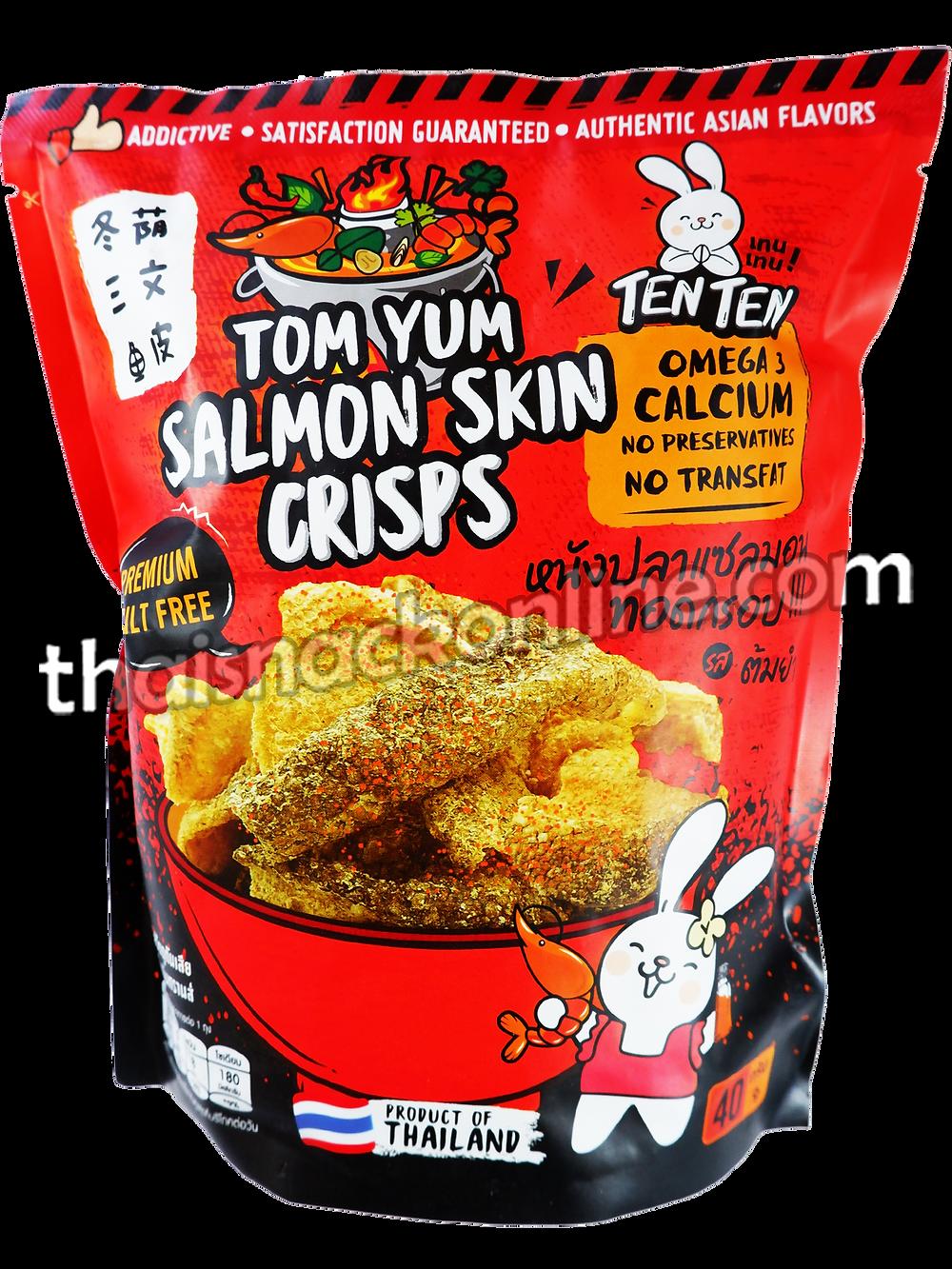 TENTEN - Salmon Skin Crisps Tom Yum