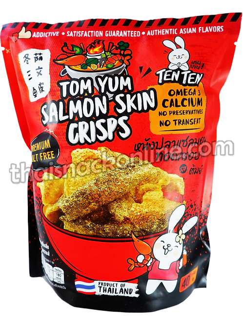 TENTEN - Salmon Skin Crisps Tom Yum (40g)