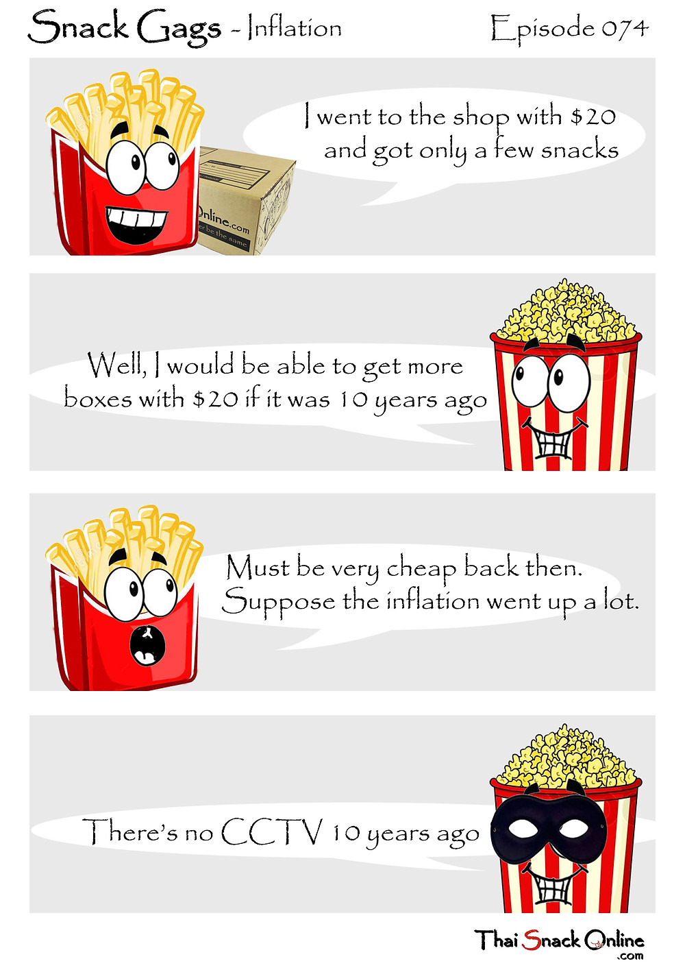 Snack Gags Ep.74 | Inflation