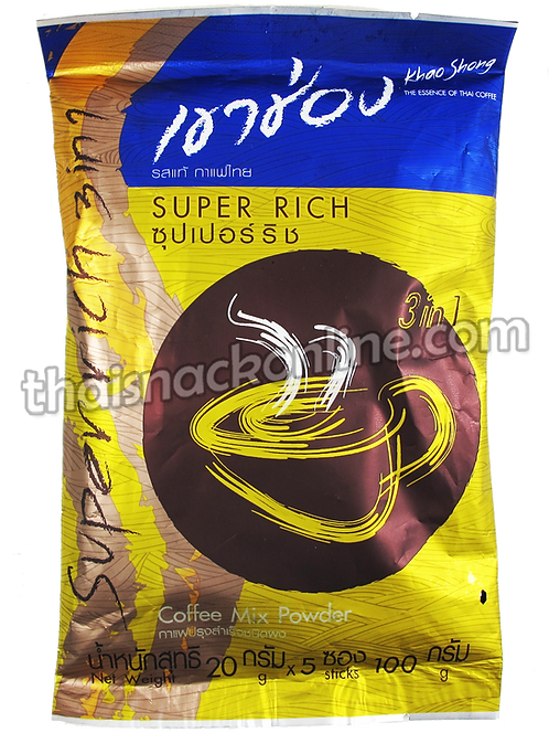 Khao Shong - Coffee Super Rich 3in1 (5x20g)