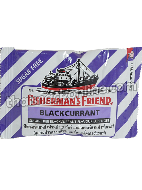 Fisherman's Friend - Lozenges Blackcurrant (25g)