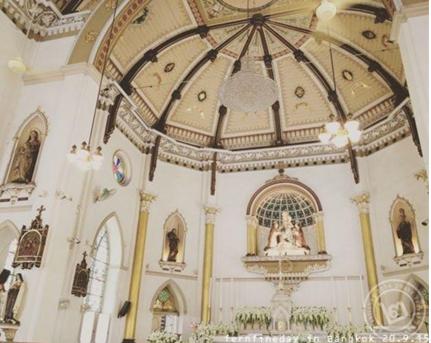 Holy Rosary Church Inside