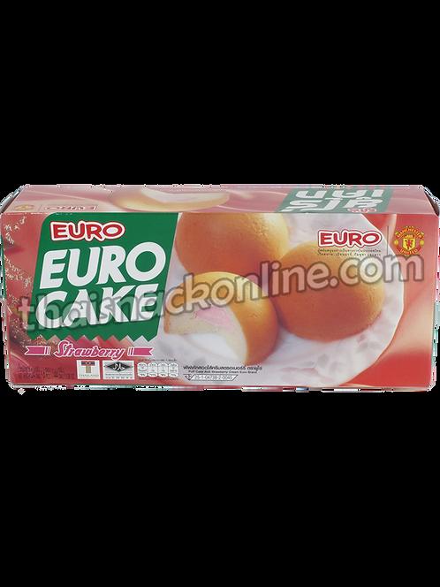 Euro - Puff Cake Strawberry (6x24g)