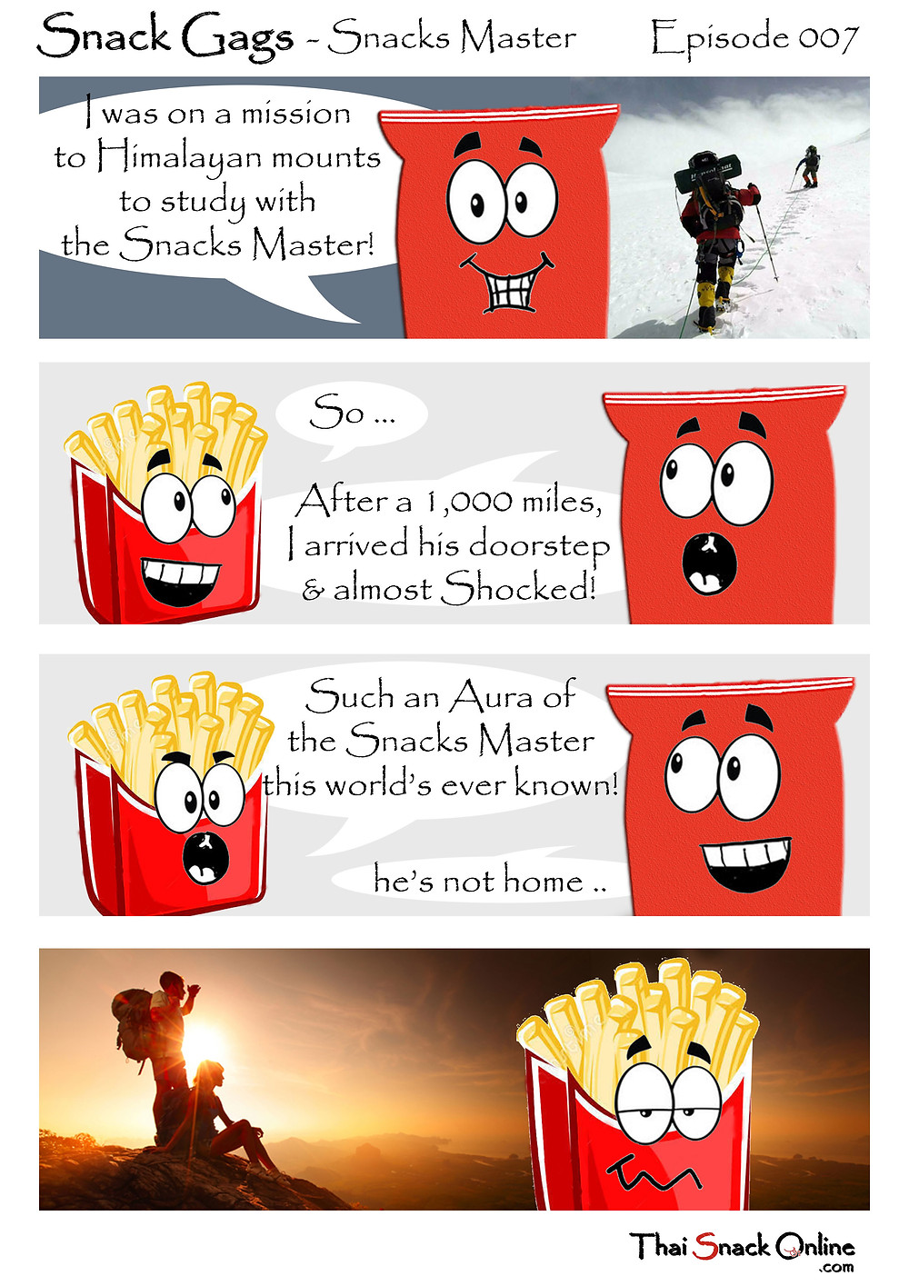 Snack Gags Ep.7   Snacks Master