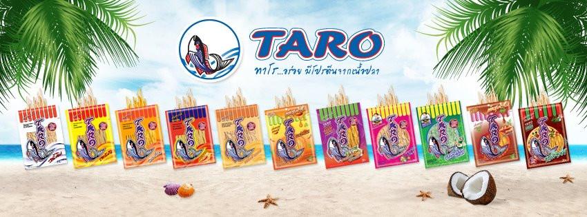Taro - Fish snacks from heaven