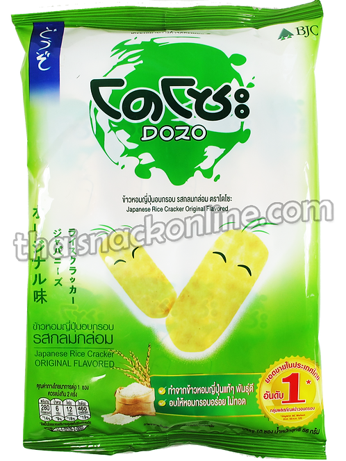 Dozo - Rice Cracker Original (10x6g)