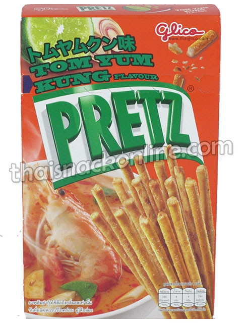 Pretz - Biscuit Stick Tom Yum Kung