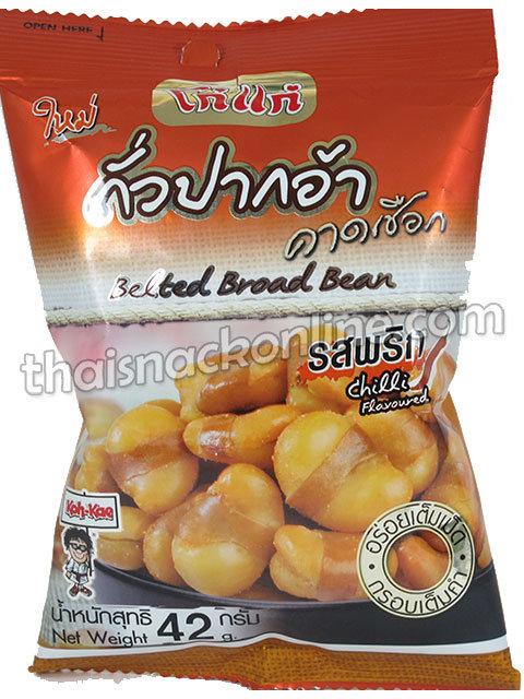 Koh Kae - Belted Broad Beans Chilli (40g)