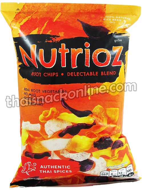 Nutrioz - Root Chips Authentic Thai Spices (50g)