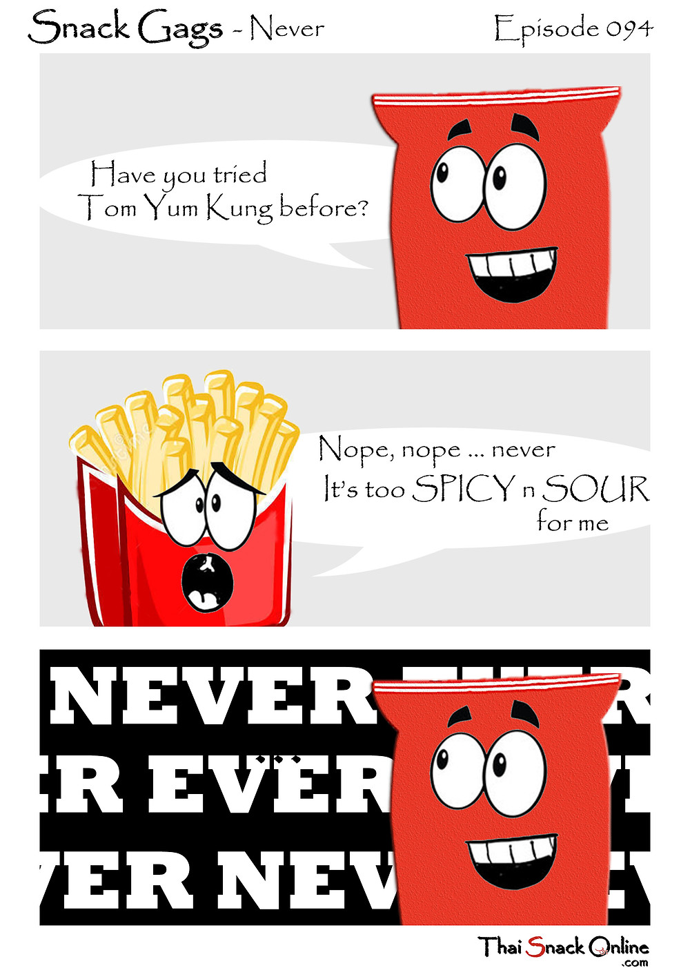 Snack Gags Ep.94 | Never