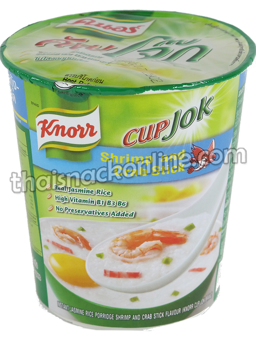 Knorr Cup - Congee Shrimp and Crab Stick (35g)