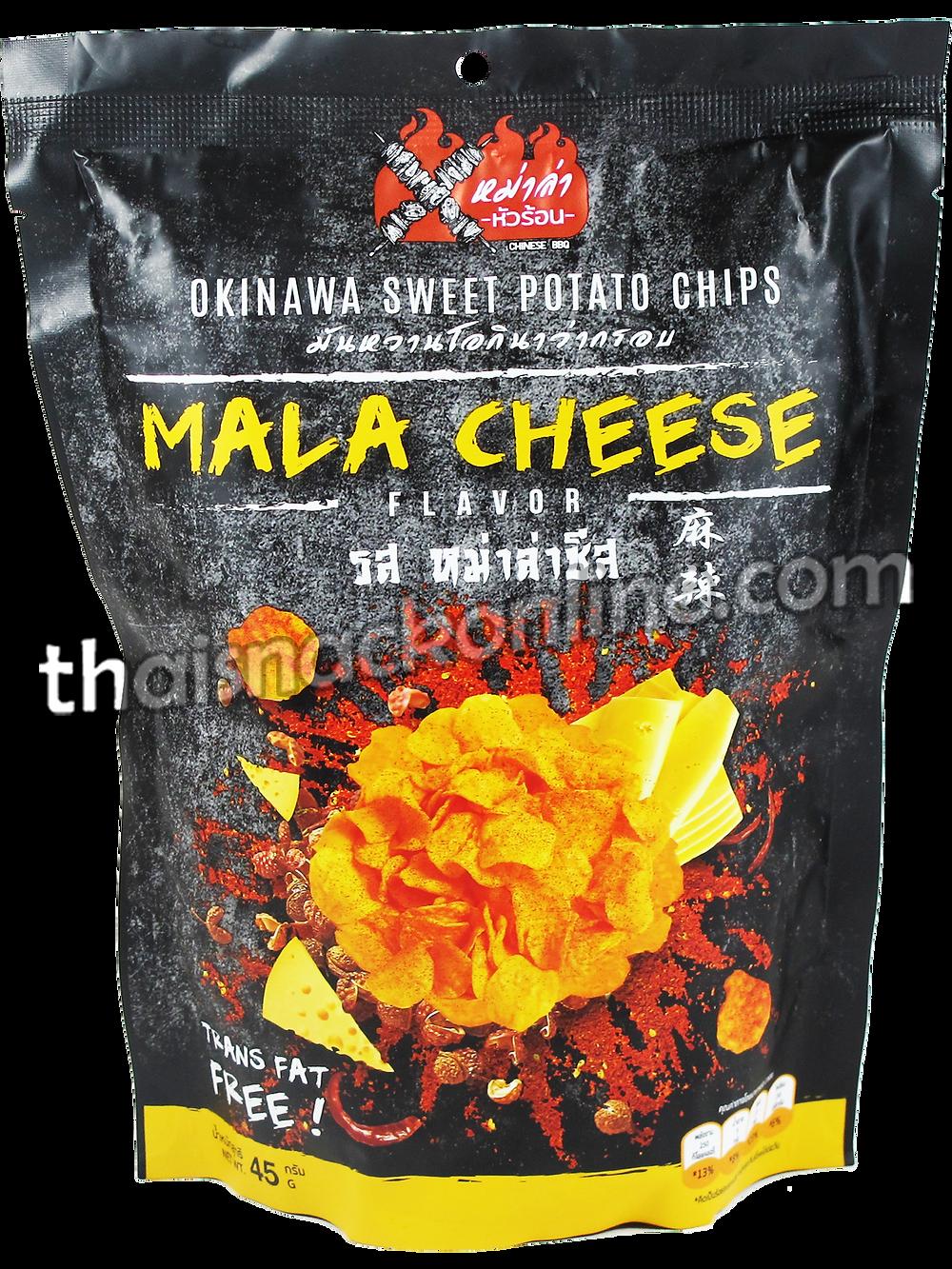 Mala Hua-Ron - Potato Chips Cheese