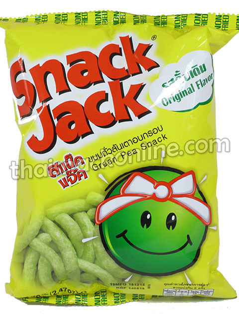 Snack Jack - Green Pea (70g)