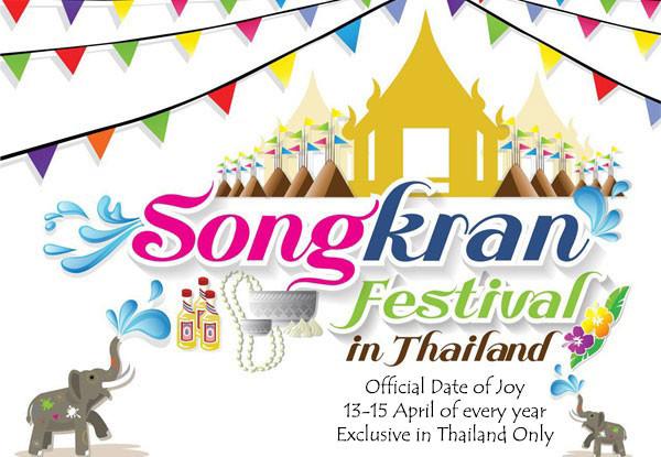 "biggest greatest 2-weeks long event called ""Songkran"" festival"