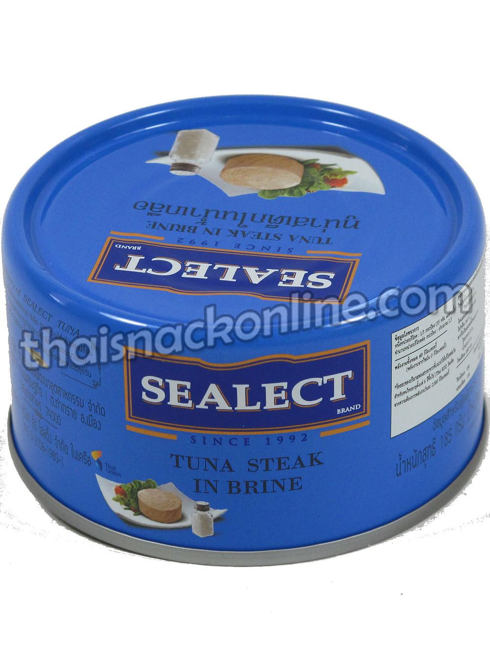 Sealect - Tuna Steak in Brine