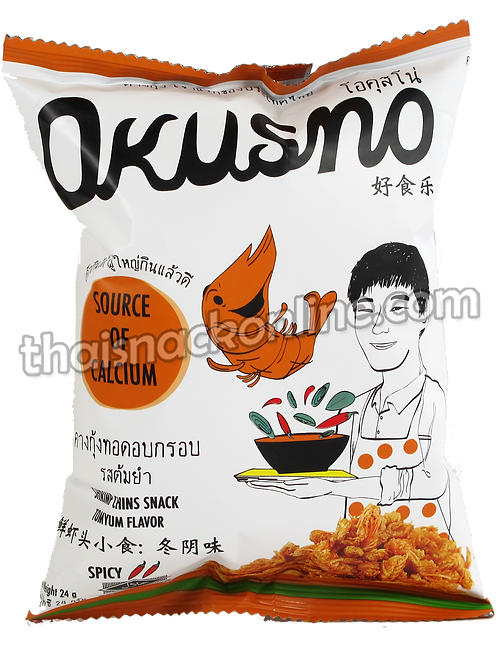 Okusno - Fried Shrimp Chins Tom Yum (24g)