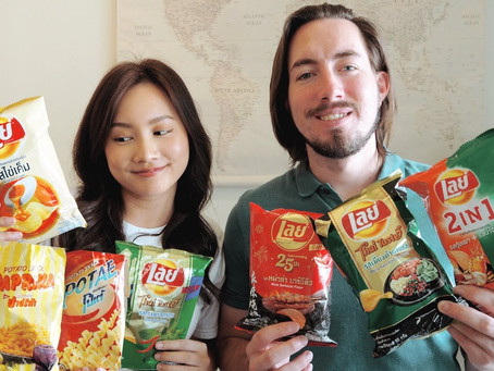 Lay's Thai flavors and more | Ploy and Brandon