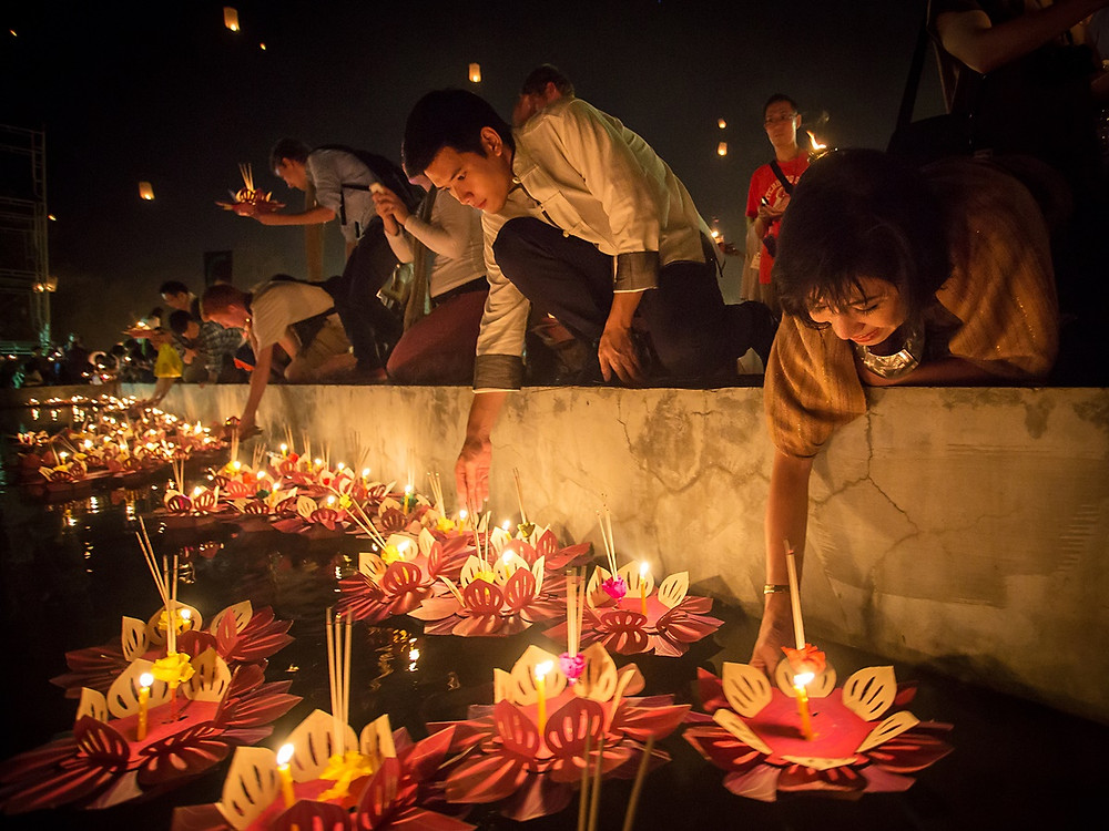Loy Krathong in Thailand