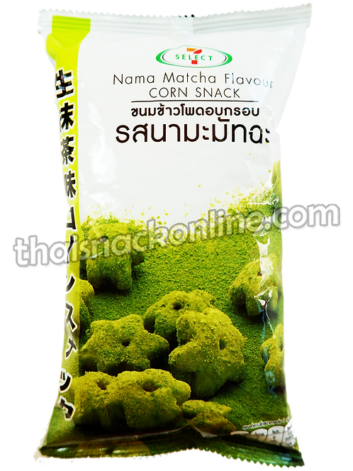 7-Select  - Nama Matcha Corn Snack (30g)