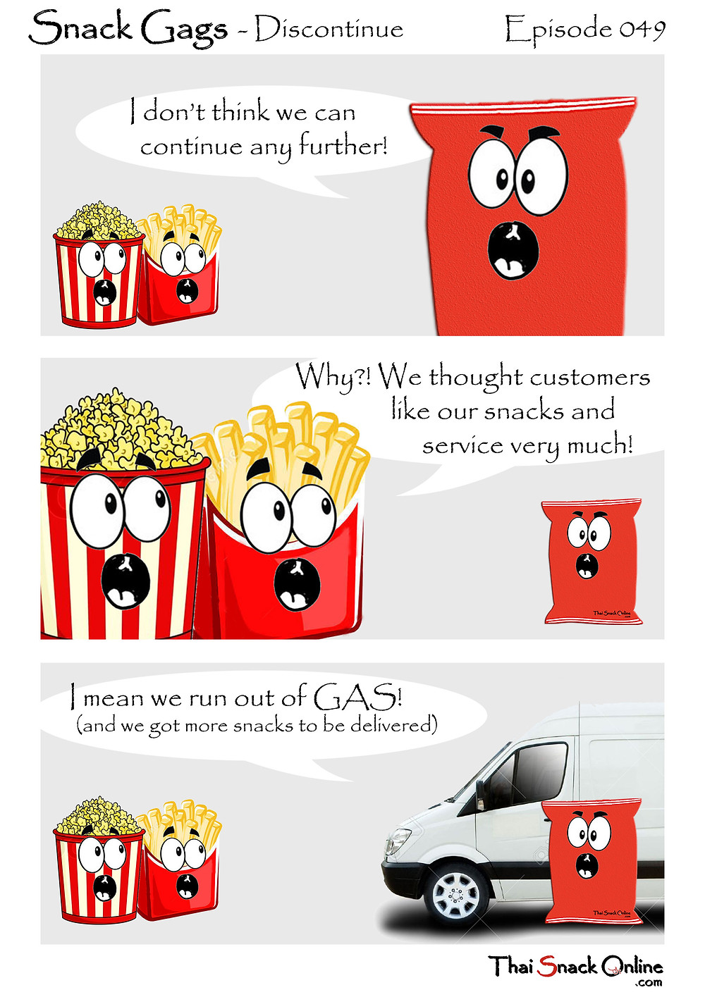 Snack Gags Ep.48 | Discount