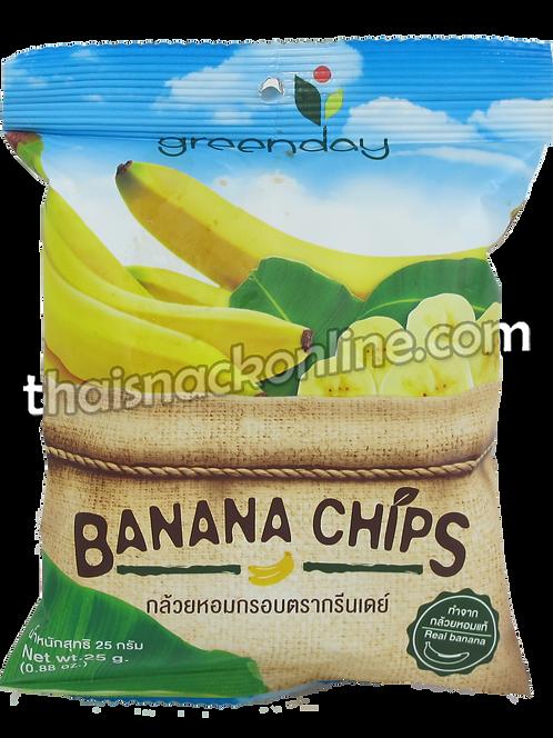 Greenday  - Banana Chips (25g)