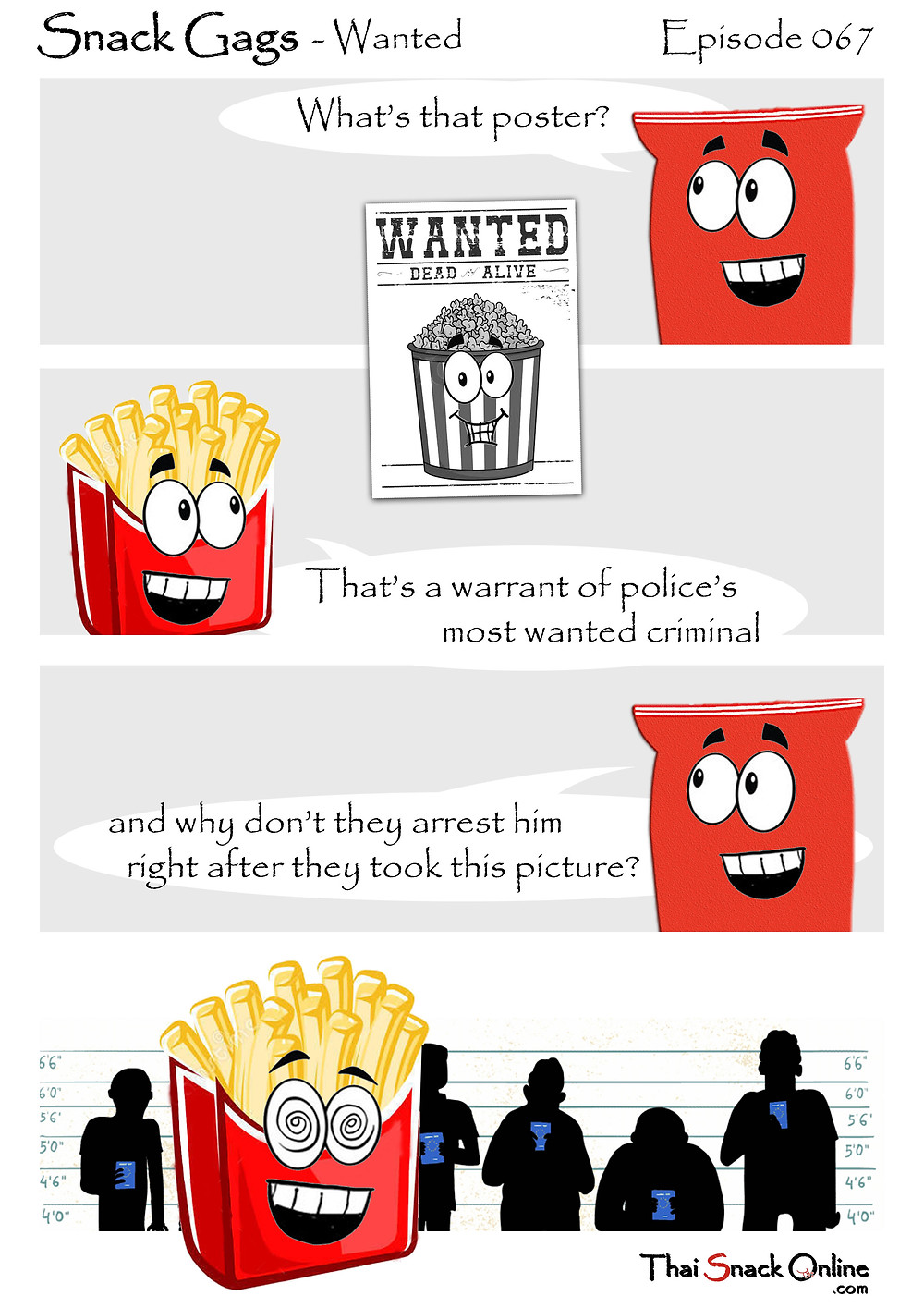 Snack Gags Ep.67 | Wanted