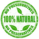 100% Natural Ingredients