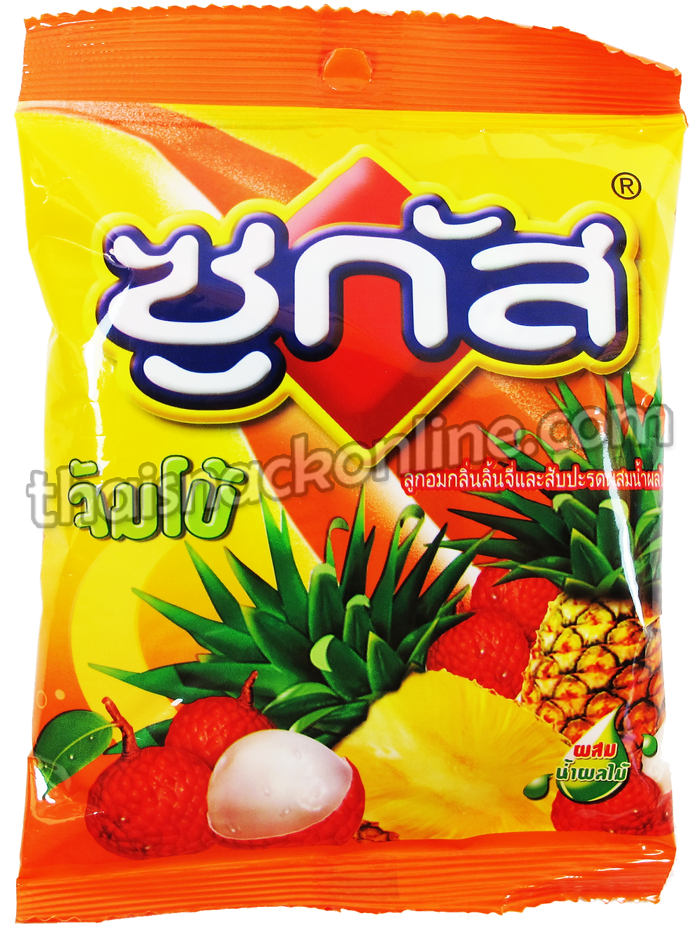 Sugus - Chewy Candy Jumbo Lychee & Pineapple