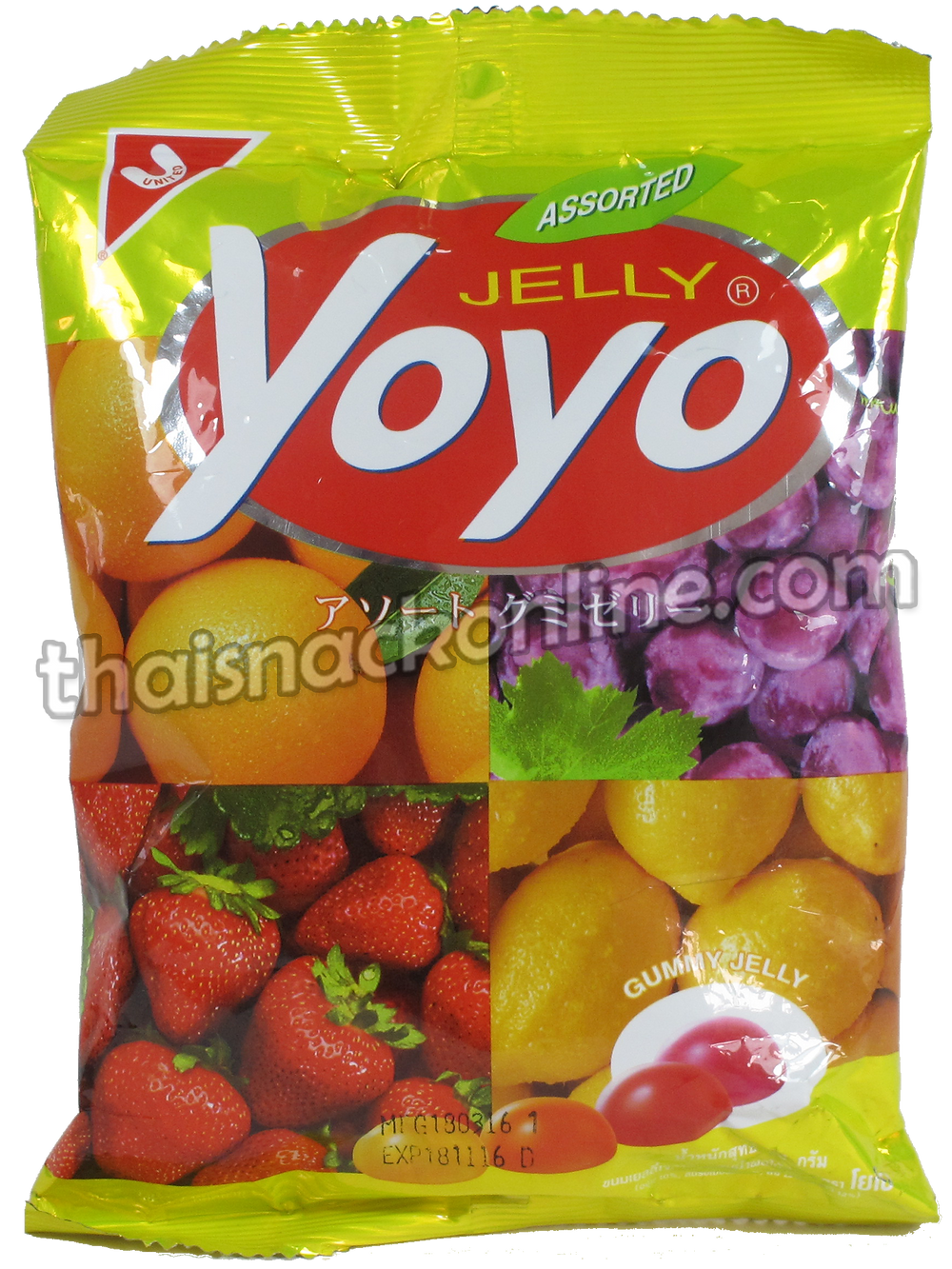 Yoyo - Jelly Assorted (80g)
