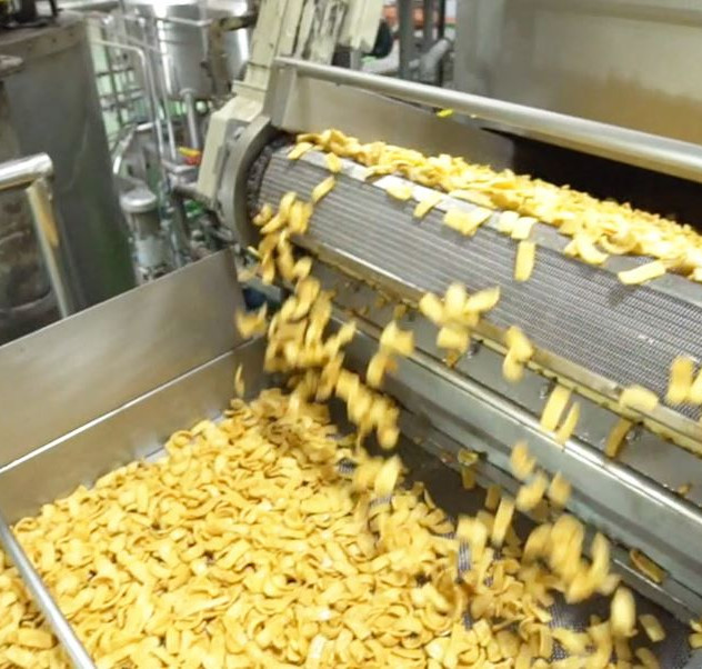 Party snack manufacturing process