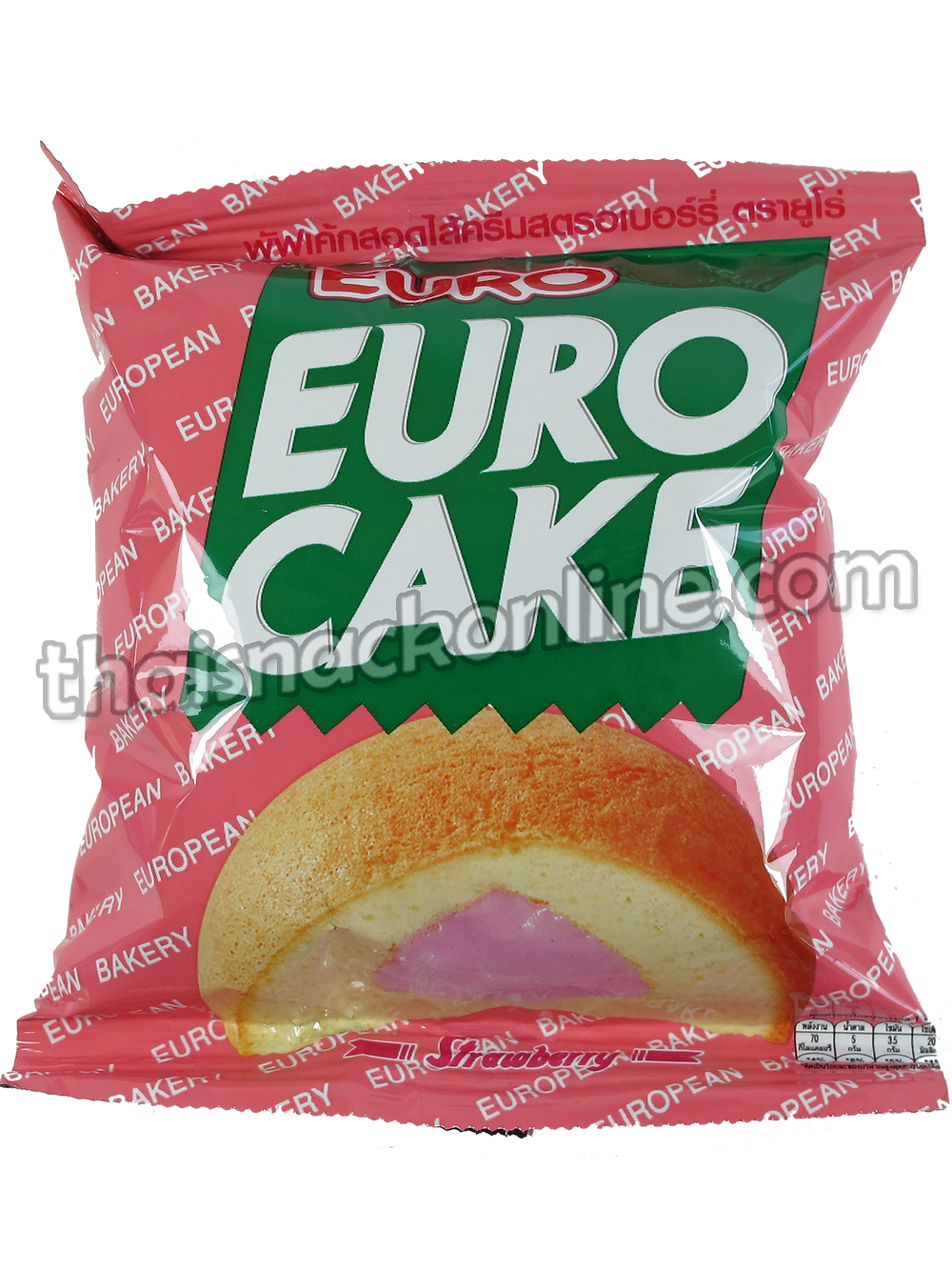 Euro - Puff Cake Strawberry