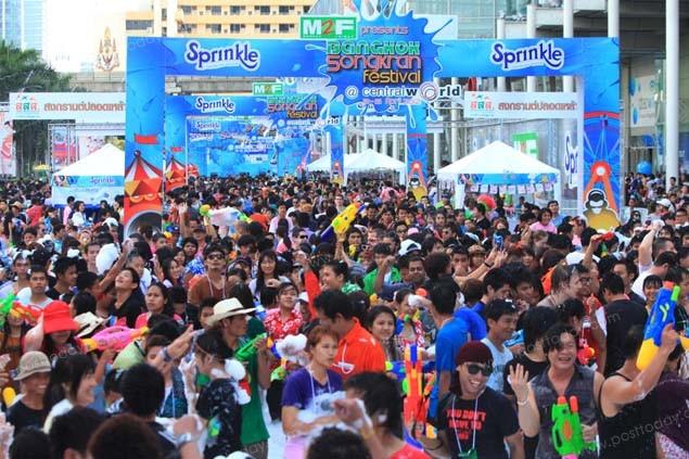Songkran Festival 2016 @ Central World