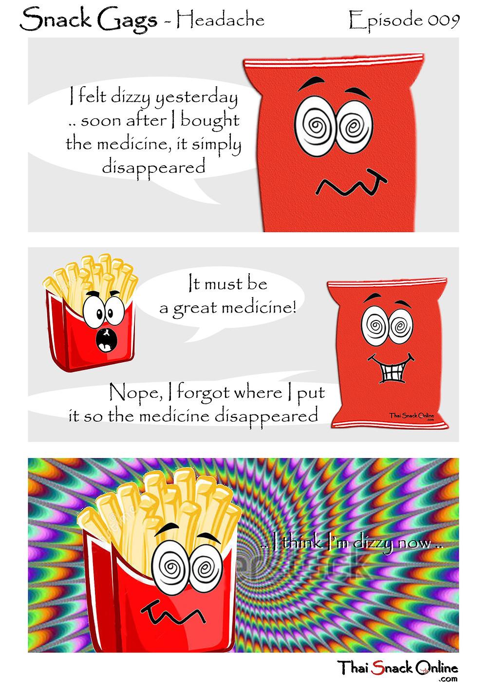 Snack Gags Ep.9   Headache