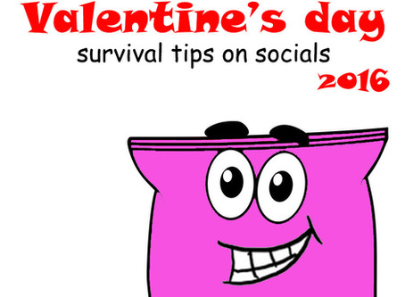 Valentine's day 2016 Survival tips on Socials