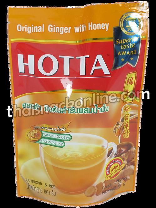 Hotta - Ginger with Honey (5x18g)