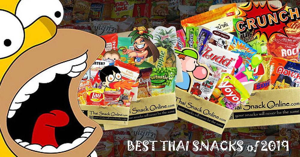 Most Popular Thai Snacks | 2016