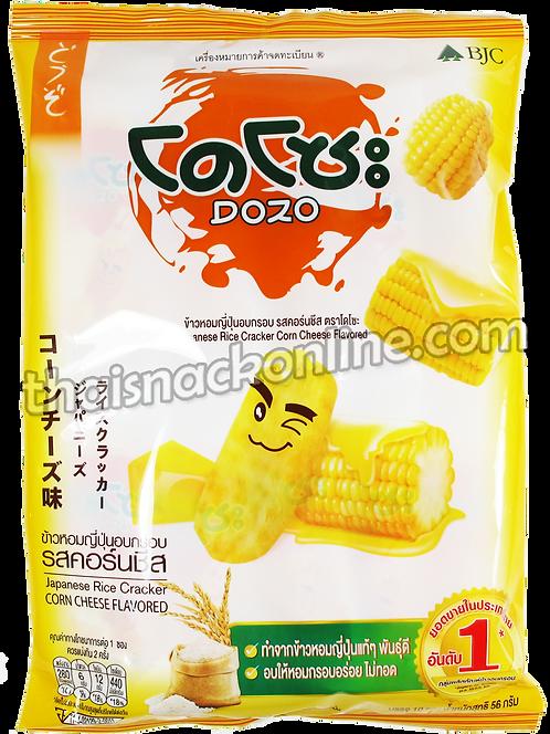 Dozo - Rice Cracker Corn Cheese (10x6g)