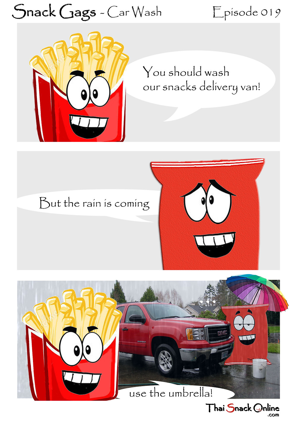 Snack Gags Ep.19 | Car Wash